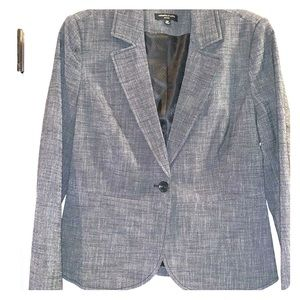 NWOT Rafaella Studio Charcoal Suit Jacket